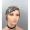 hesapli Parti Başlıkları-Tüyler Headbands / Baş Süsü / Başlık ile Taşlı / Kristal / Boncuklama 1 parça Düğün / Parti / Gece Başlık