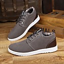 cheap Men's Sneakers-Men's Comfort Shoes Suede Spring Oxfords Gray / Brown / Blue