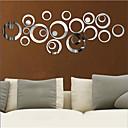 levne Samolepky na zeď-Ozdobné samolepky na zeď - 3D samolepky na zeď / Nálepky na zeď zrcadlové Tvary Obývací pokoj / Ložnice / Kuchyň