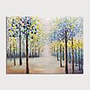 זול ציורי נוף-ציור שמן צבוע-Hang מצויר ביד - מופשט L ו-scape מודרני ללא מסגרת פנימית