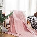 billige Tæpper ogplaider-Seng tæpper / Sofa kaste / Multifunktionelle tæpper, Stribet Bomuld Varmer Blød comfy dyner