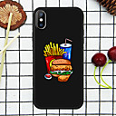 cheap iPhone Cases-Case For Apple iPhone XR / iPhone XS Max Pattern Back Cover Food Soft TPU for iPhone XS / iPhone XR / iPhone XS Max