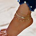 hesapli Ayakkabı Bağcıkları-1 Parça Sentetik Dekoratif Aksamlar Unisex Bahar Günlük Altın / Gümüş