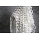 halpa Wedding Dress Fabric-Tylli Yhtenäinen  Joustamaton 160 cm leveys kangas varten Erikoistilanteet myyty mukaan mittari