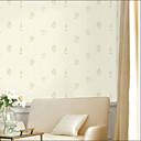 levne Nástěnná malba-Nástěnné látky Netkané textilie Wall Krycí - lepidlo požadováno Květinový / secesní motiv / 3D