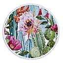 hesapli Kumsal Havlusu-Kadın's Yonca Etek Örtü Mayolar - Çiçekli Desen Tek Boyut Yonca