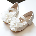 povoljno Kids' Flats-Djevojčice Udobne cipele / Obuća za male djeveruše Mikrovlakana Ravne cipele Dijete (9m-4ys) / Mala djeca (4-7s) Biser / Cvijet Light Pink / Kristalne Proljeće / Jesen / Zabava i večer / Guma