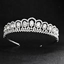 cheap Party Headpieces-Rhinestone / Alloy Tiaras with Rhinestone 1 Piece Wedding / Daily Wear Headpiece