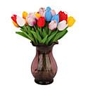 abordables Flores Artificiales-Flores Artificiales 5 Rama Clásico Accesorios de Escenario Europeo Lirios Flores eternas Flor de Mesa