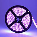 levne Páječka a příslušenství-zdm vodotěsný 16,4ft / 5m uv černý světlo 395-405nm 3528 led flexibilní pásek dc12v pro vnitřní fluorescenční taneční party osvětlení osvětlení těla barva