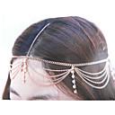 halpa Hiuskorut-Naisten Vintage 1920-luku Gatsby Cubic Zirkonia Headwear Monitaso