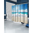 cheap Shower Curtains-Shower Curtains & Hooks Country Polyester Machine Made Waterproof Bathroom