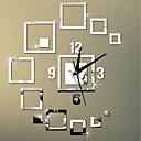 abordables Horloges Murales-Style moderne Moderne contemporain Acrylique Irrégulier Intérieur