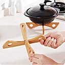 preiswerte Küchenwerkzeuge Zubehör-Tablettablage abnehmbare Tischplatte aus Holz Küchentopf Wärmeisolierte Kühl-Topflappen