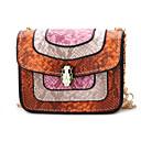 お買い得  キッズバッグ-女性用 バッグ PU キッズバッグ カラーブロック ルビーレッド / ピンク / Brown