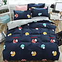 cheap Contemporary Duvet Covers-Duvet Cover Sets Cartoon Polyster Reactive Print 4 PieceBedding Sets