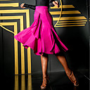 povoljno Cipele za latino plesove-Latino ples Donji Žene Seksi blagdanski kostimi Spandex Nabori Sudačko Suknje
