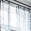 halpa Harsoverhot-Nykyaikainen Valo-suodatus One Panel Sheer Olohuone   Curtains