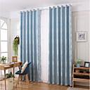 זול וילונות חלון-עכשווי פרטיות פאנל אחד וִילוֹן סלון   Curtains / ג'אקארד