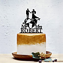 halpa Kakkukoristeet-Kakkukoristeet Klassinen teema / Luova / Wedding Yksilöllinen / Romanttinen Akryyli Häät / Juhlat / Ilta kanssa Yksivärinen 1 pcs OPP