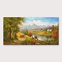 povoljno Biciklističke majice-iarts&ručno oslikana uljana slika s rastegnutim okvirom za uređenje doma