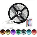 halpa Seinämaalaukset-BRELONG® 1m RGB-valonauhat 60 LEDit SMD5050 RGB Vedenkestävä / Party / Koristeltu 12 V 1kpl
