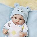 זול מדבקות קיר-NPKCOLLECTION NPK DOLL בובה מחדש בובת נערה תינוקות בנים תינוקות בנות 12 אִינְטשׁ גוף מלא סיליקון ויניל - כְּמוֹ בַּחַיִים מתנה שתל מלאכותי עיניים כחולות הילד של יוניסקס / בנות צעצועים מתנות