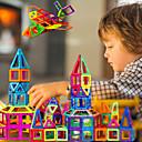 זול Building Blocks-בלוק מגנטי אריחים מגנטיים צעצועים מגנטיים 30 pcs תואם Legoing מגנטי בנים בנות תינוקות צעצועים מתנות / אבני בניין