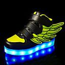 זול נעלי ספורט לילדים-בנים / בנות נוחות / נעליים זוהרות PU נעלי ספורט פעוט (9m-4ys) / ילדים קטנים (4-7) / ילדים גדולים (7 שנים +) LED ירוק / כחול / ורוד אביב קיץ / סתיו חורף / גומי