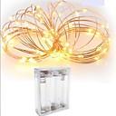 ieftine Fâșie Becuri LED-2m Fâșii de Iluminat 20 LED-uri SMD 0603 Alb Cald / Alb / Roșu Rezistent la apă / Creative / Ce poate fi Tăiat 5 V 1 buc