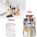 cheap Jewelry & Cosmetic Storage-Storage Organization Cosmetic Makeup Organizer PMMA Irregular shape Uncovered / Triple-layer