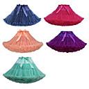 お買い得  ハロウィーンコスチューム-プリンセス スカート パーティーコスチューム チュチュ ヴィンテージ 1950年代風 ブルー ピンク フクシア ペチコート / スカートの下 / クリノリン