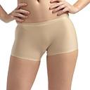 abordables Panties-Mujer Short y Slip de Chico / Sin Costura - Básico Baja cintura Color Camello Verde Ejército Lavanda S M L