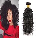 halpa Aitohiusperuukit-6 pakettia Brasilialainen Kinky Curly Remy-hius Hiukset kutoo Bundle Hair Yksi pakkaus ratkaisu 8-28inch Luonnollinen väri Hiukset kutoo Vesiputous Cute Muodikas malli Hiukset Extensions Naisten