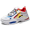 hesapli Erkek Atletik Ayakkabıları-Erkek Ayakkabı Örümcek Ağı Yaz Sportif / Günlük Atletik Ayakkabılar Koşu / Yürüyüş Atletik / Günlük için Beyaz / Siyah