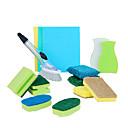 halpa Keittiön siivoustarvikkeet-Keittiö Siivoustarvikkeet mikrokuituliina Sponge polyesterikuitua Puhdistusaine Yksinkertainen Uusi malli Työkalut 1set