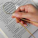 halpa Suurennuslasit-koristeellinen monocle-kaulakoru 6-kertaisella suurennuslasilla riipus kultaa hopea kullattu kaulakoru naisille