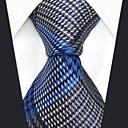 ieftine Oxfords Bărbați-Bărbați Curcubeu / Carouri / Jacquard Petrecere / Birou / De Bază Cravată