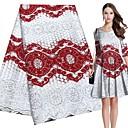 ราคาถูก Crafts&Sewing-ลูกไม้ สไตล์พื้นบ้าน Pattern 120-135 cm ความกว้าง ผ้า สำหรับ เครื่องแต่งกายและแฟชั่น ขาย โดย Yard