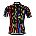 cheap Cycling Jerseys-JESOCYCLING Women's Short Sleeve Cycling Jersey - Black Bike Jersey Breathable Quick Dry Sports 100% Polyester Mountain Bike MTB Road Bike Cycling Clothing Apparel / Stretchy