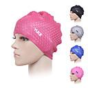 זול כובעי שחיה-כובעי שחיה ל מבוגרים סיליקון מתיחה נוח עמיד שחייה