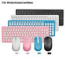 halpa muis toetsenbord combo-LITBest GKM520 Langaton 2.4GHz Hiiren näppäimistö Combo Viralliseen käyttöön Office näppäimistö Numeronäppäimistö Office Mouse 1000 dpi