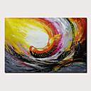 halpa Abstraktit maalaukset-Hang-Painted öljymaalaus Maalattu - Abstrakti Abstraktit maisemakuvat Moderni Sisällytä Inner Frame / Venytetty kangas