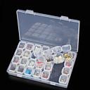 halpa Turvallisuus matkalla-Storage Box Muovi Multi-function / Kestävä Läpinäkyvä