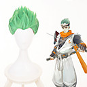 abordables Perruques de Cosplay de Manga-Cosplay Cosplay Perruques de Cosplay Tous 12 pouce Fibre résistante à la chaleur Vert Manga