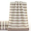 זול מגבת רחצה-איכות מעולה מגבת רחצה, פסים כותנה טהורה 2 pcs