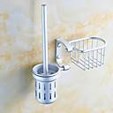 cheap Toilet Brush Holder-Toilet Brush Holder Multifunction Modern Aluminum 1pc - Bathroom Wall Mounted