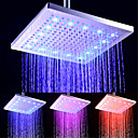 cheap Rain Shower-Contemporary Rain Shower Electroplated Feature - LED / New Design / Shower, Shower Head