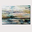 halpa Abstraktit maalaukset-Hang-Painted öljymaalaus Maalattu - Abstrakti Maisema Comtemporary Moderni Sisällytä Inner Frame