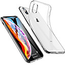 cheap iPhone Cases-Case For Apple iPhone XS / iPhone XS Max Shockproof / Ultra-thin / Transparent Back Cover Solid Colored Soft TPU for iPhone XS / iPhone XR / iPhone XS Max